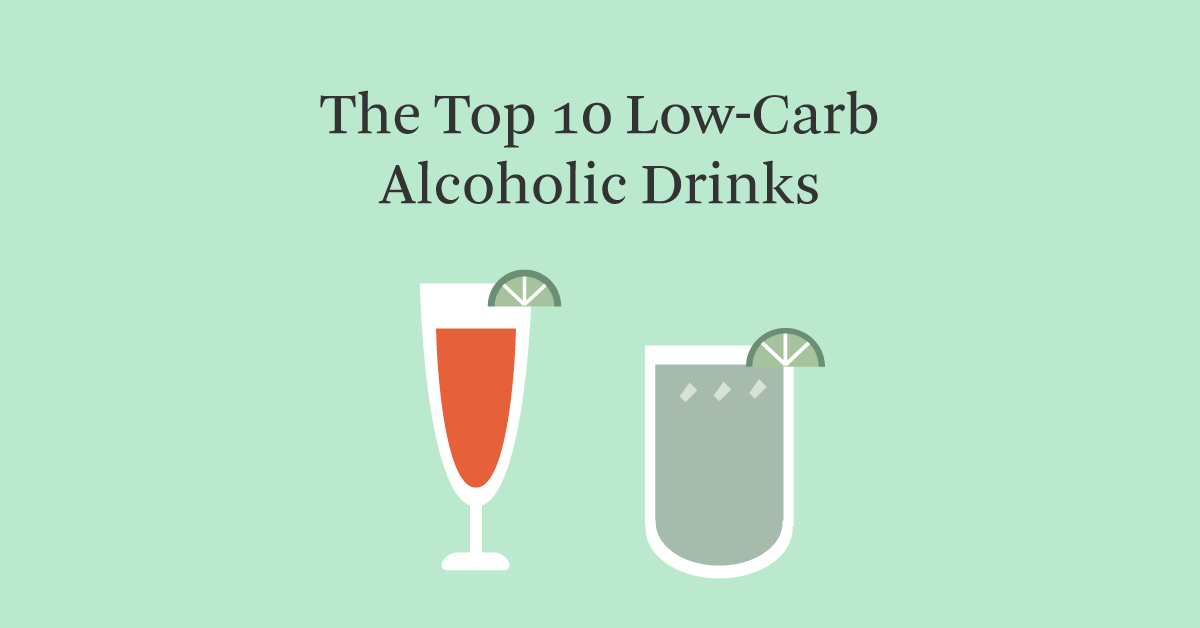 What alcoholic drink has the least carbs