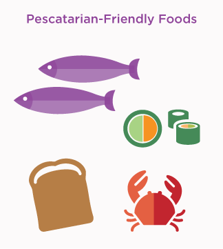 pescatarian-friendly foods