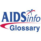 AIDSinfo HIV/AIDS Glossary logo