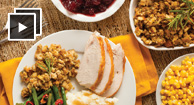 thanksgiving day plate