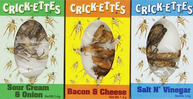 seasoned crickets
