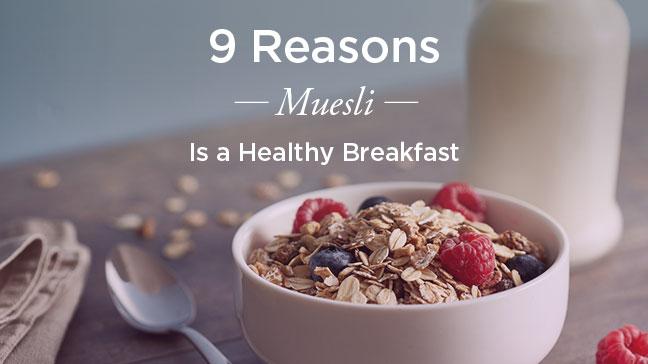 benefits of muesli