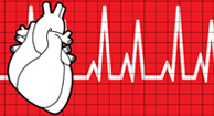 heart and heartbeat graph