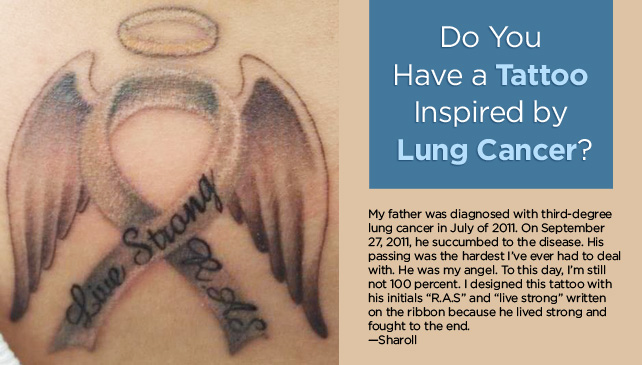 Lung Cancer Tattoos
