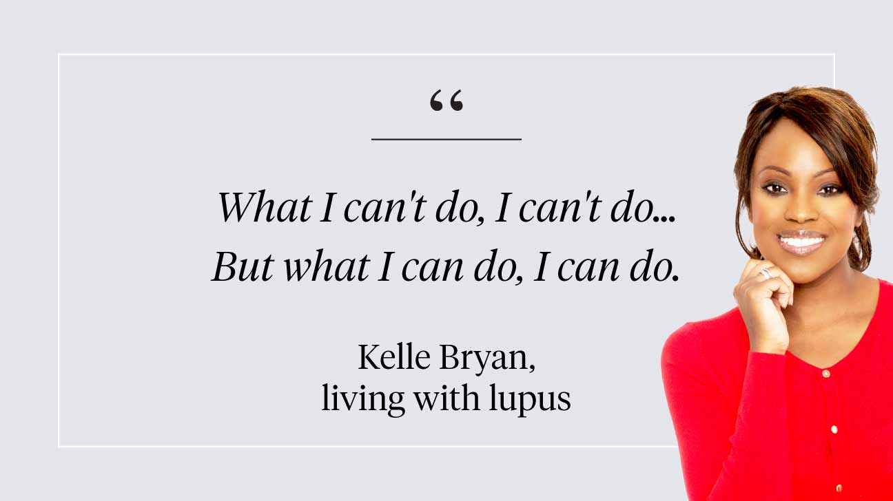 Kelle Bryan and Lupus