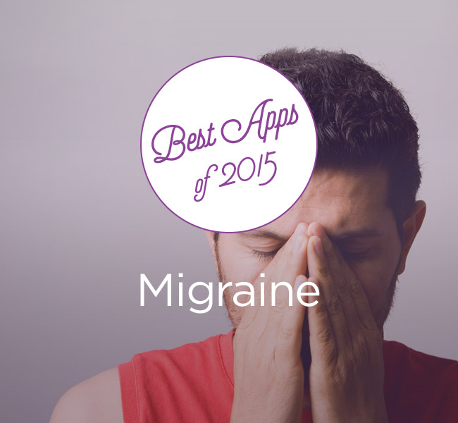 man with a migraine