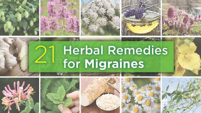 21 herbal remedies for migraines