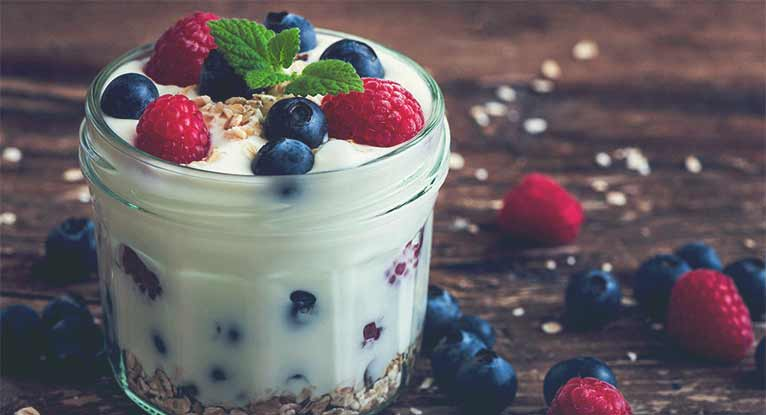 probiotics in yogurt