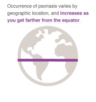 geographic location - psoriasis
