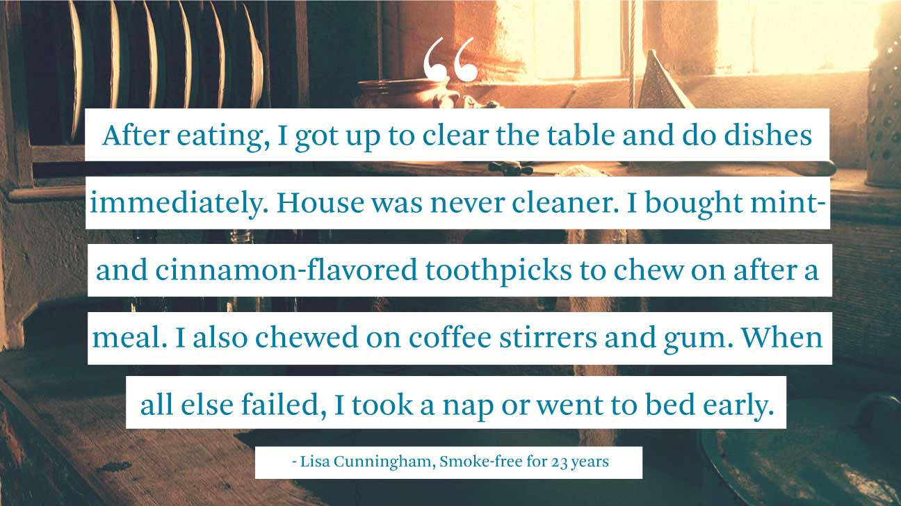 quitting smoking stories