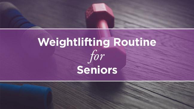 senior weightlifting