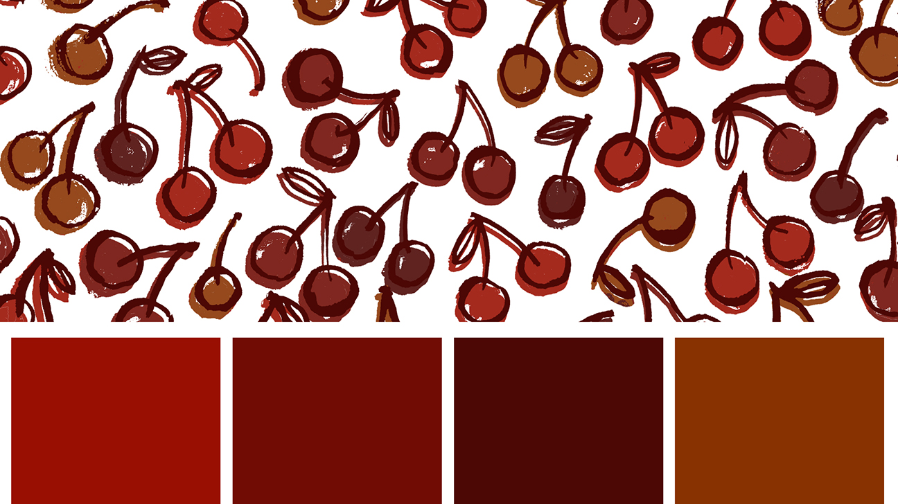 Red or brown bloody discharge is normal during your period. Colors might  range from cherry red at the beginning of your period to rusty brown.