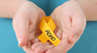 adhd yellow ribbon