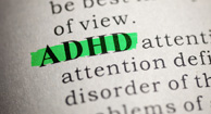 adhd highlighted in text