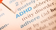 ADHD definition in a medical book