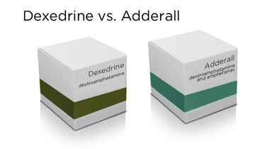 dexedrine vs adderall