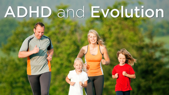 ADHD and Evolution family running outdoors