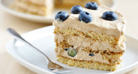 Gluten-Free Blueberry Layer Cake