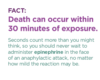 anaphylaxis epinephrine emt fact