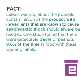 anaphylactic shock fact