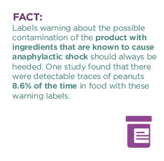 anaphylactic shock fact