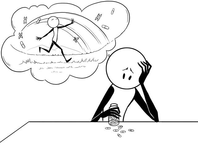 dating someone on prozac