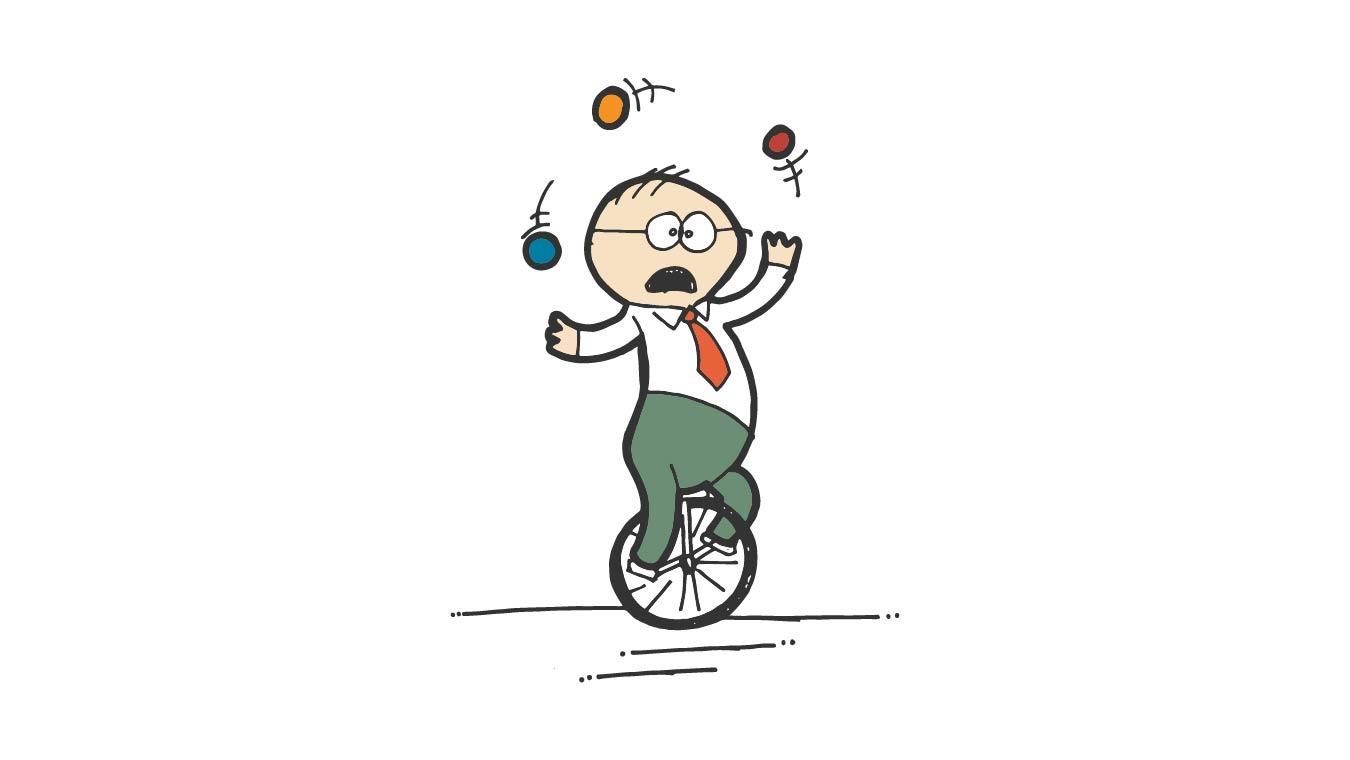 psychiatrist professional mood juggler
