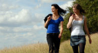 women walking outdoors