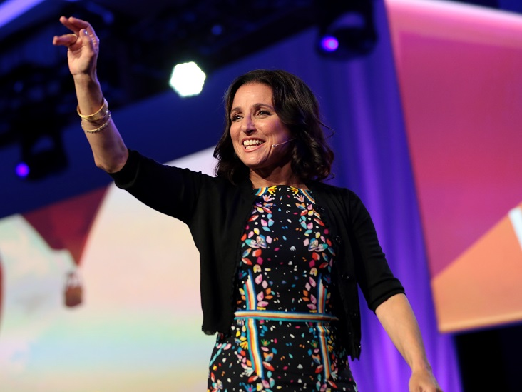 Funny Lady Julia Louis-Dreyfus Gets Serious About Her Breast Cancer Diagnosis and Women's Health Care