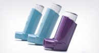 Inhalers for COPD.