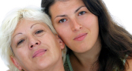 copd patient with her caregiver