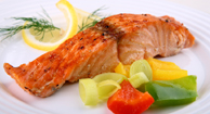 Grilled Mustard Salmon