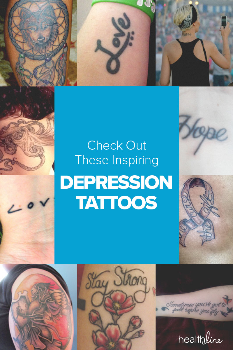 22 inspiring depression tattoos buycottarizona Gallery