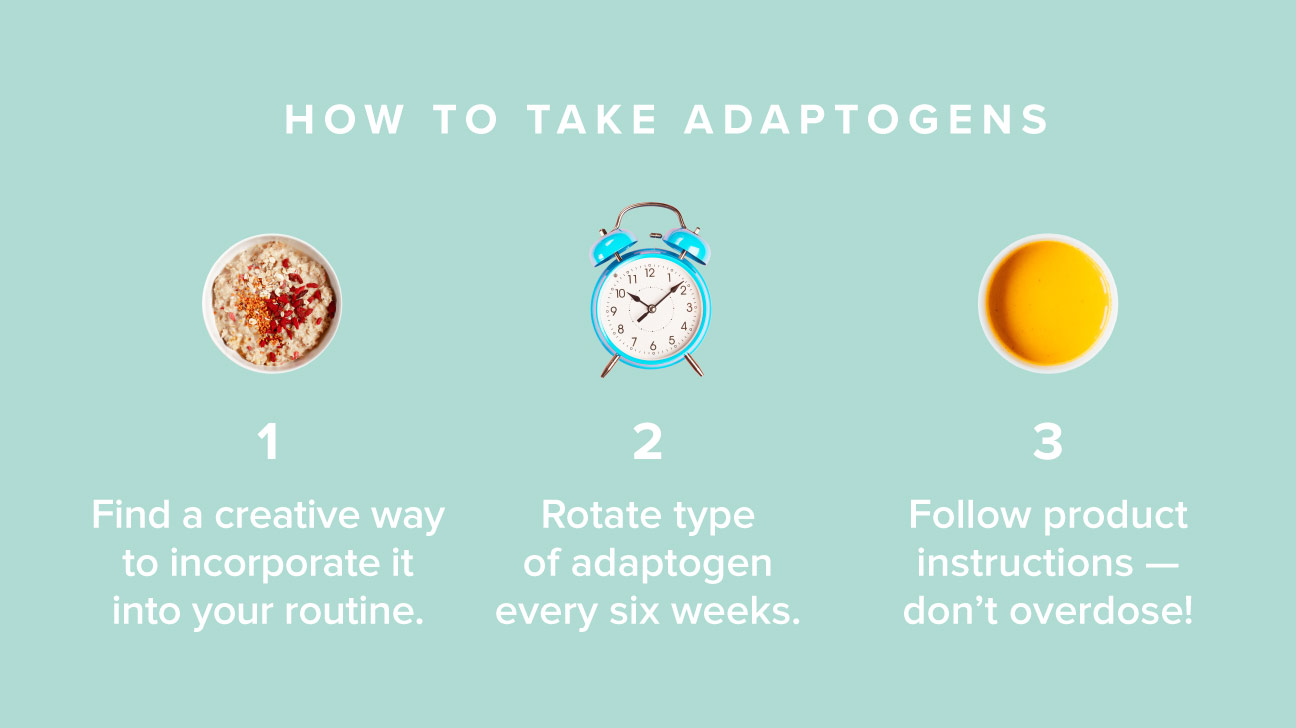 Here's how to ace adaptogens