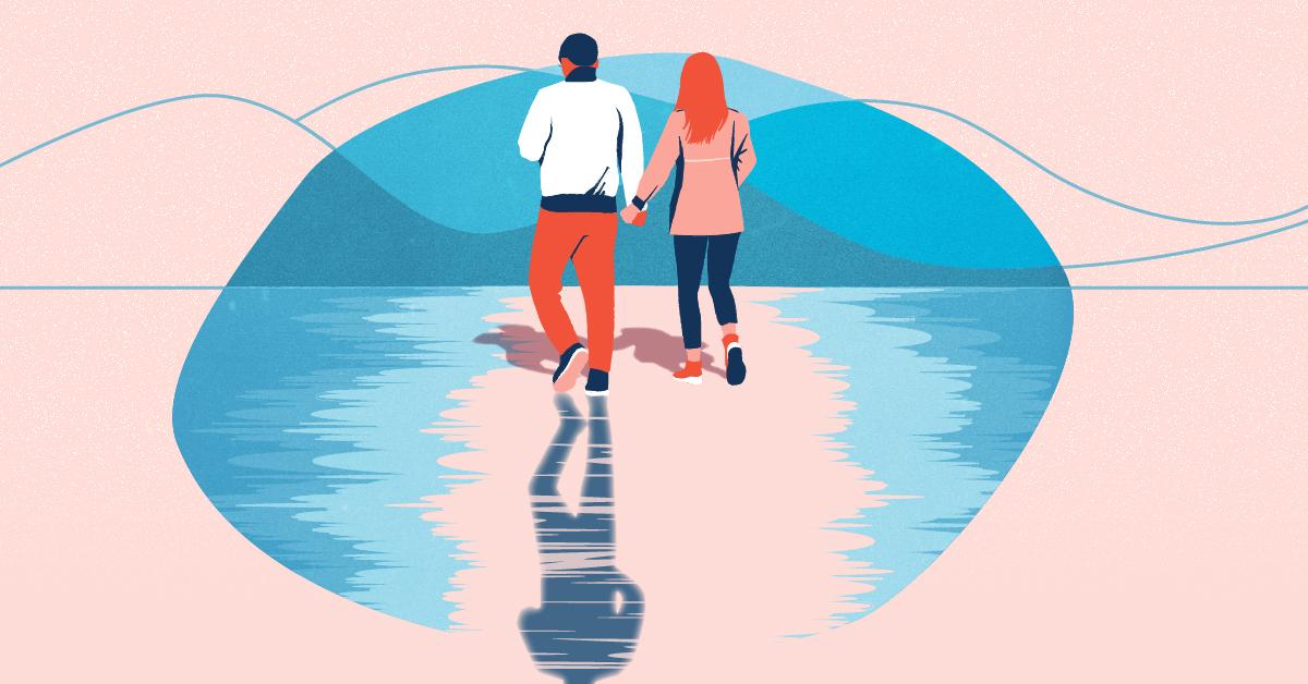 When a widower falls in love again