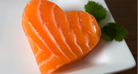 Salmon is a heart-healthy protein.