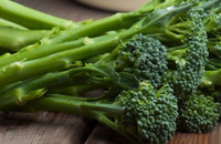 Broccolini with Browned Garlic