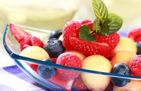 Mint and Basil Fruit Salad