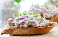 Tuna and White Bean Tartine