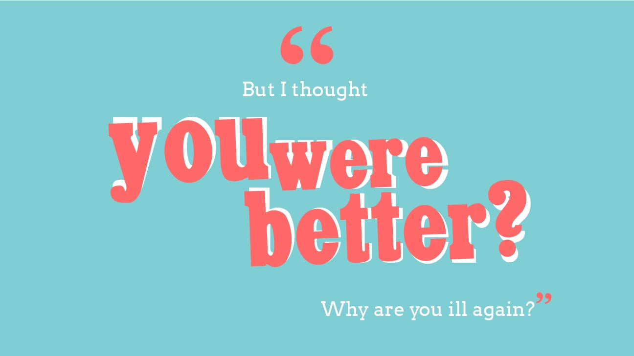 you were better
