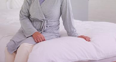 woman with atrophic vaginitis