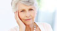 woman with parkinson's symptoms