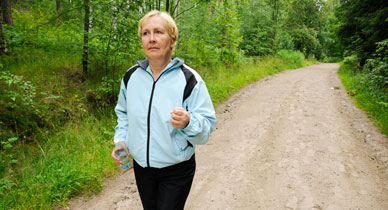 Regular Walks and Stretching Can Ease OA Knee Pain