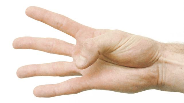 thumb bend