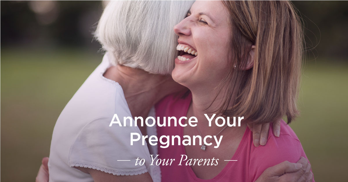 How to Tell Your Parents Youre Pregnant 9 Ideas – Baby Announcement to Parents