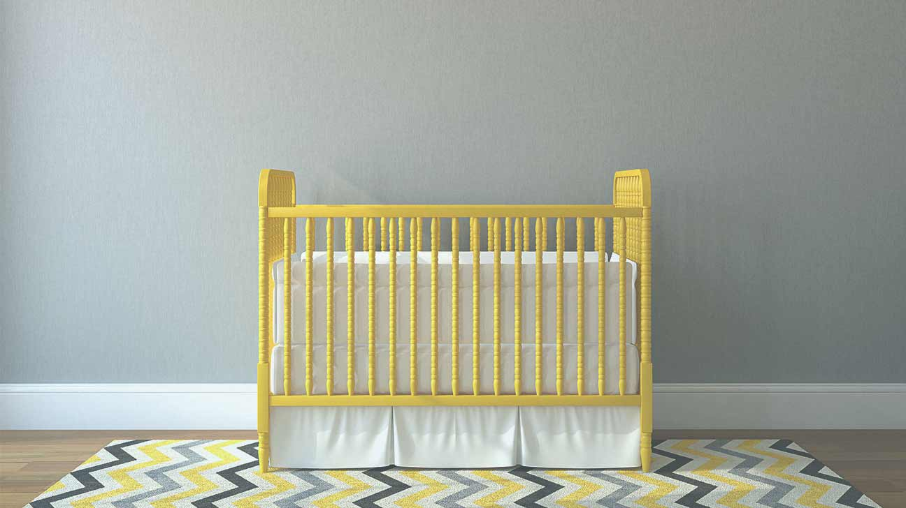 cute blue for accents room furniture and white safety mattress wall healthy feat safe design ideas pattern environment contemporary pretty nursery baby paint idea cribs likeable