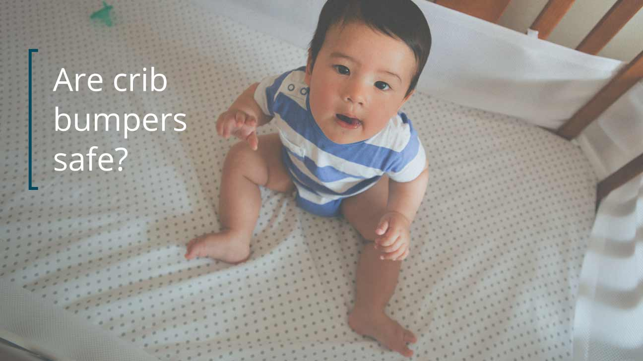 Crib dangers for babies - Crib Bumpers Safe