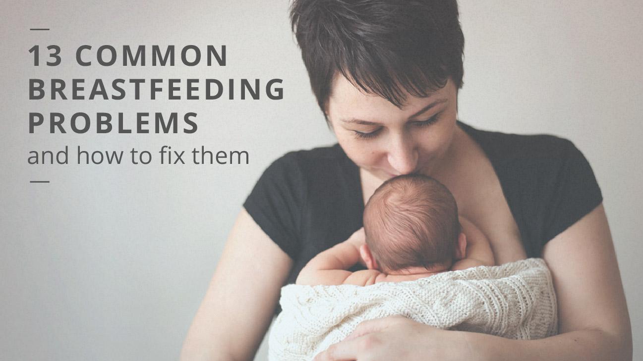 Breast-feeding problems