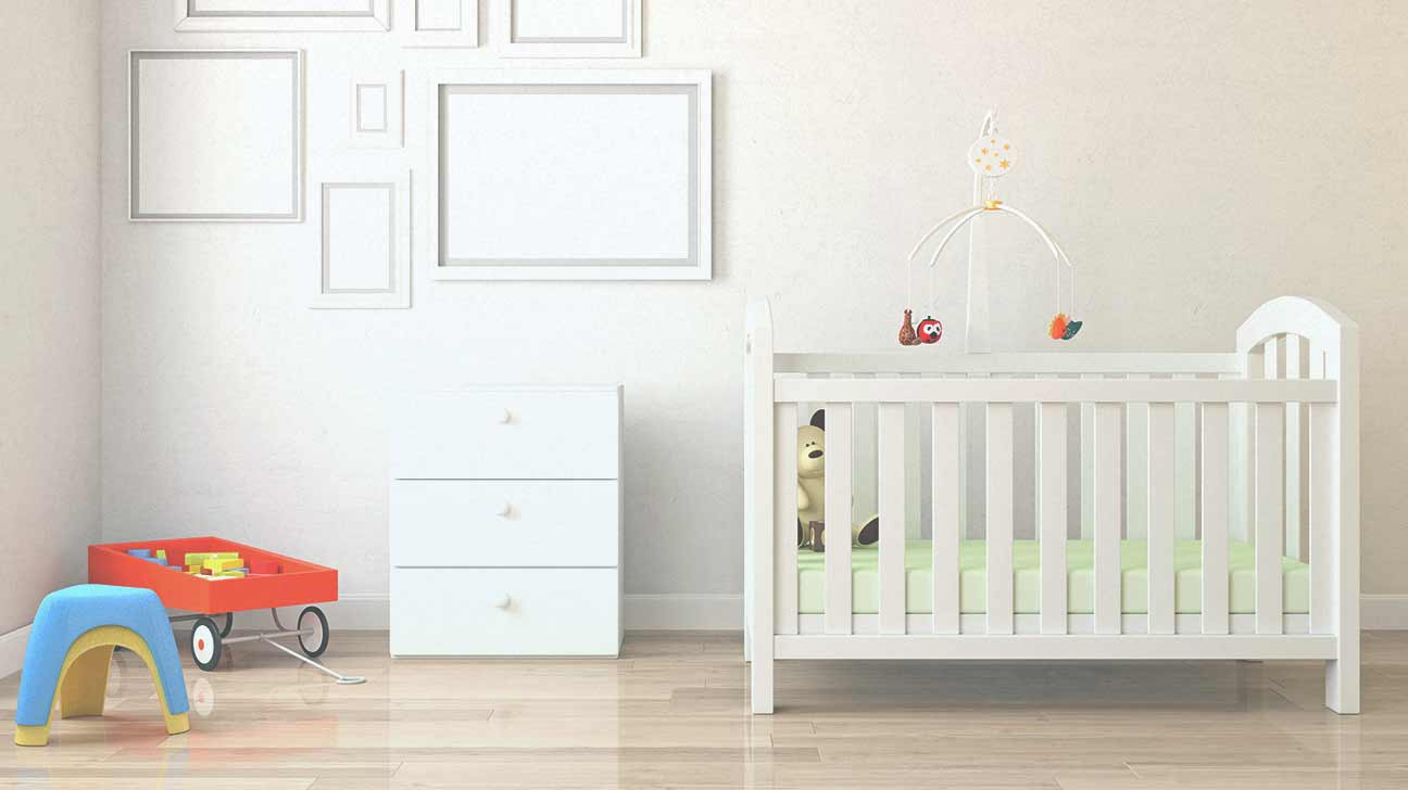 Baby safe paint for the nursery for Baby and kids first furniture