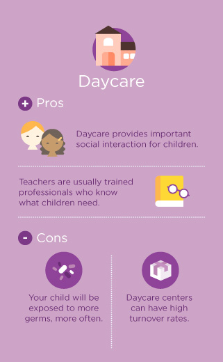 daycare pros and cons